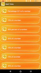 Math Tricks screenshot