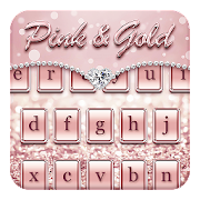 App Pink & Gold Keyboard Theme APK for Windows Phone