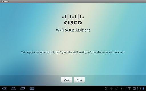 Cisco Network Setup Assistant screenshot 1
