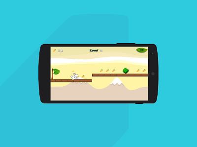 Cute Rabbit Game: Free screenshot 3
