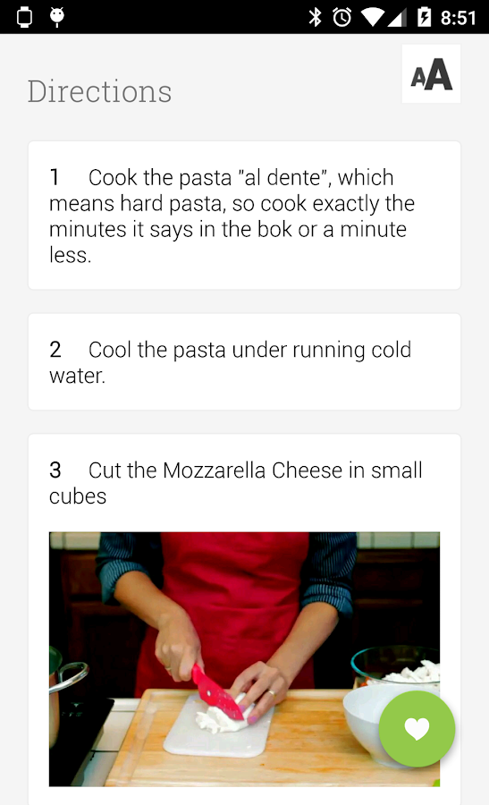 Allthecooks Recipes - screenshot