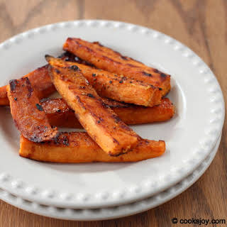 Baked Sweet Potato Wedges.