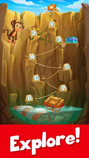 Tropic Trouble Match 3 Builder apkpoly screenshots 8