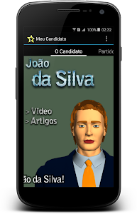 Meu Candidato screenshot 1