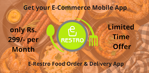 E Restro - A Food Ordering App APK 0