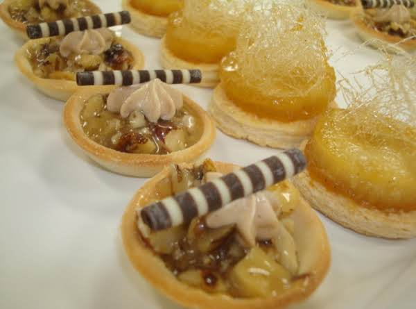 Caramel Walnut Tartlet Recipe