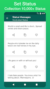 Status Messages & Quotes Collection 2017 - náhled