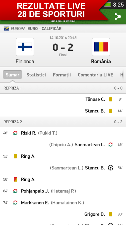 flashscore romania
