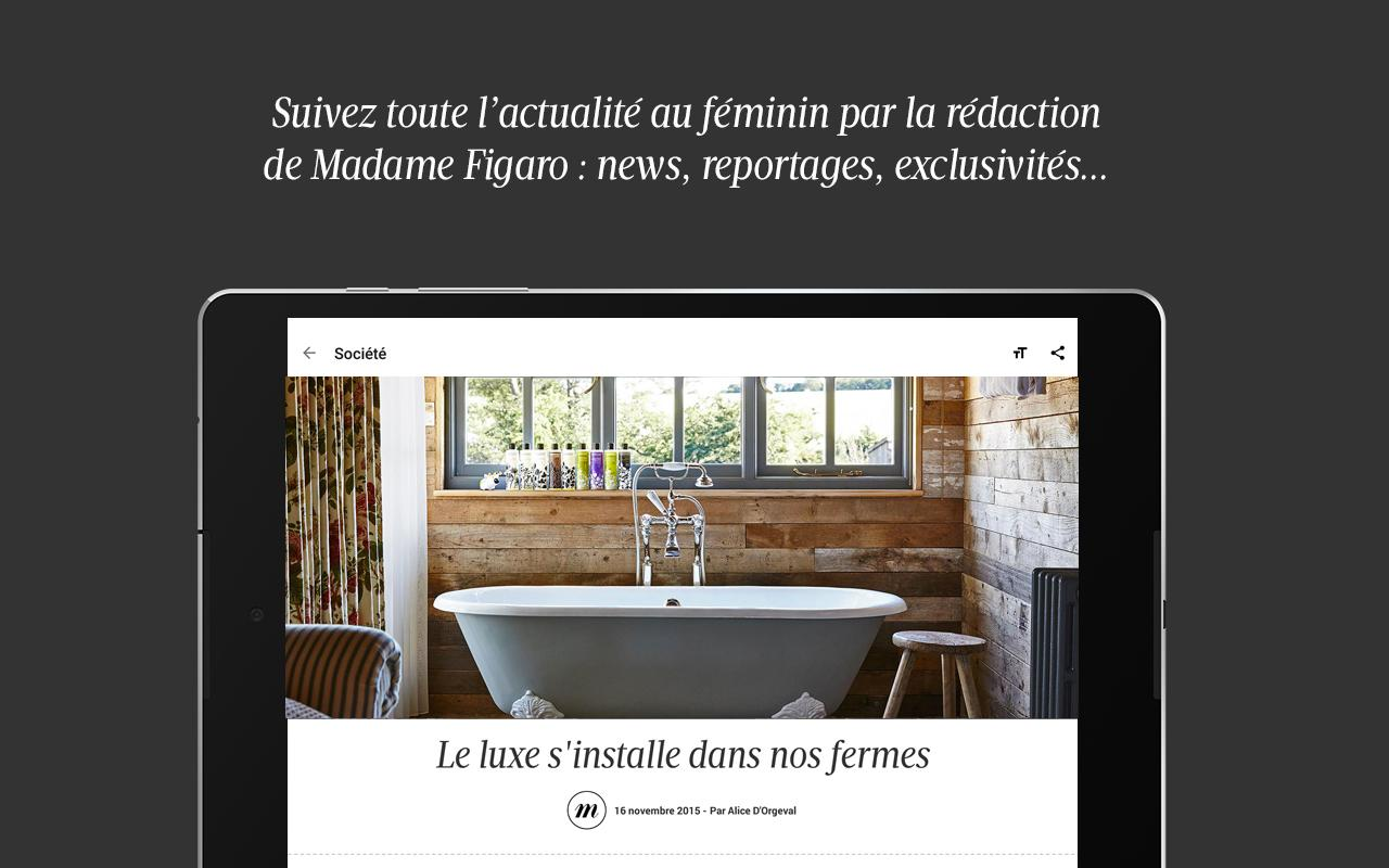 Madame Figaro: le news féminin- screenshot
