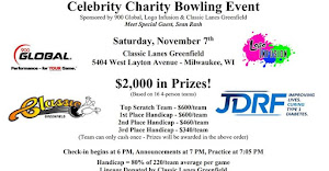CELEBRITY CHARITY BOWLING TOURNAMENT