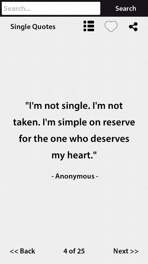 Single Quotes New Single Quotes  Android Apps On Google Play