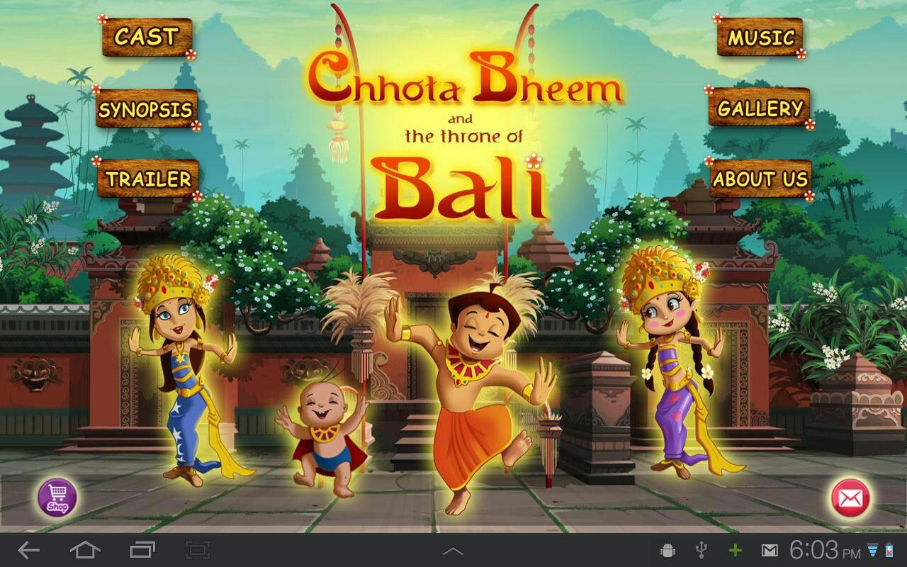 Bali Movie App - Chhota Bheem- screenshot