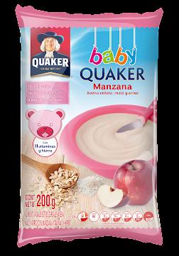 Cereal Quaker Baby Manzana