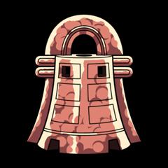 牡丹の銅鐸