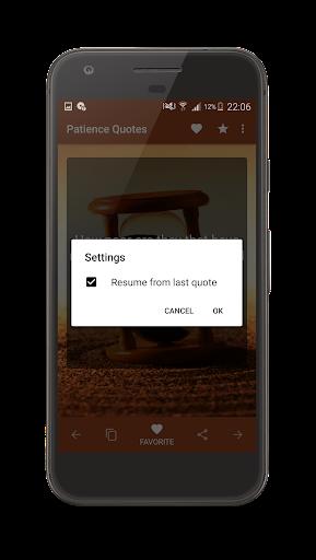 Patience Quotes screenshot 18