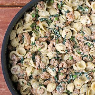 Sausage Ricotta Pasta.