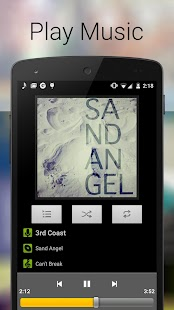 Music Player for Android- screenshot thumbnail