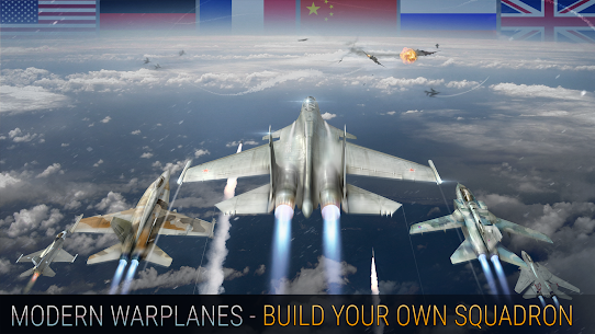 Modern Warplanes: Sky fighters PvP Jet Warfare Apk Download For Android 4