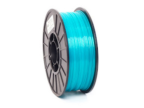Translucent Aqua PRO Series PETG Filament - 3.00mm (1lb)
