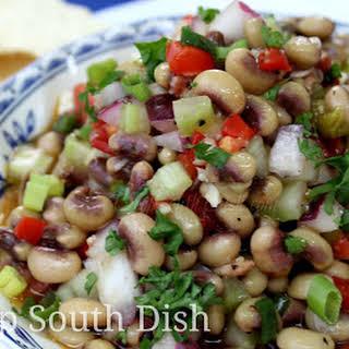Southern Caviar - Black Eyed Pea Salad.