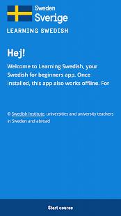 Learning Swedish - náhled