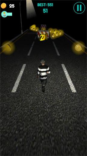 Code Triche Night Runner - Thriller Endless Runner  APK MOD (Astuce) screenshots 3