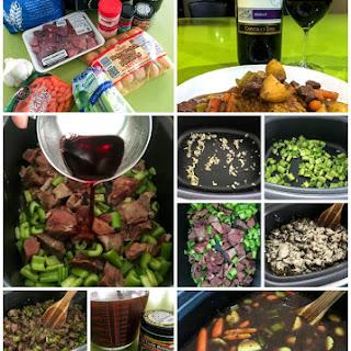 Blizzard Beef Stew Bourguignon (Slow Cooker) Recipe