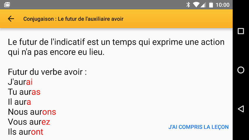 android Exogus CE2 Révision français Screenshot 1
