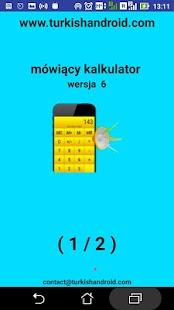 mówiący kalkulator - náhled