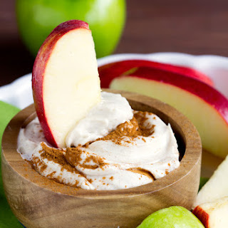 Cream Cheese Brown Sugar Apple Dip.