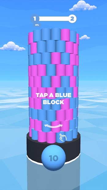Tower Color Android App Screenshot