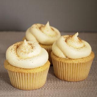 Custard Tart Cupcakes.