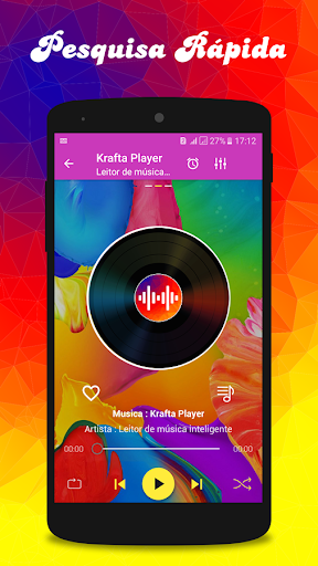 Krafta musicas MP3 player for PC