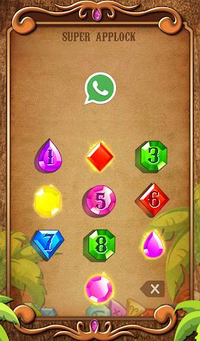 android Applock Theme Jewels Star Screenshot 3