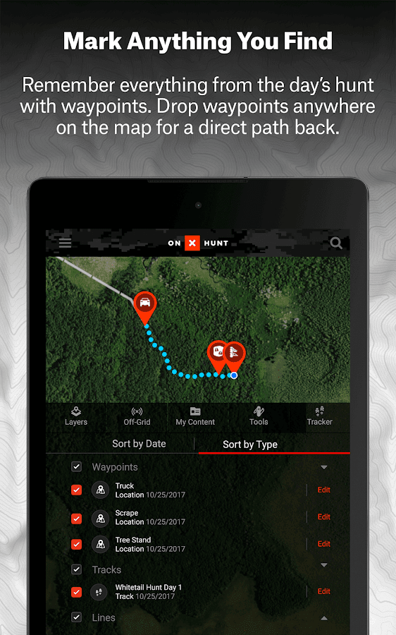 OnX Hunt Maps Hunting GPS Offline US Topo Maps Android Apps - Migrate us topo free maps to pro versino