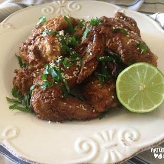 Peanut Satay Chicken Wings