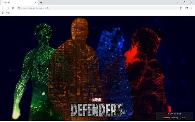 The Defenders New Tab & Wallpapers Collection