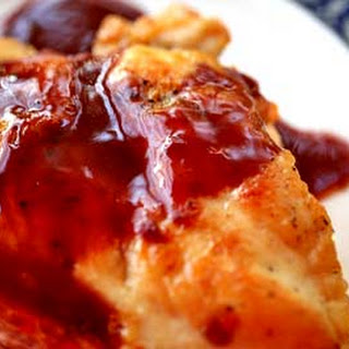 Chicken with Creamy Cassis Sauce