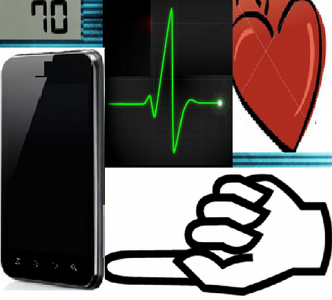 Heart Rate beat monitor finger