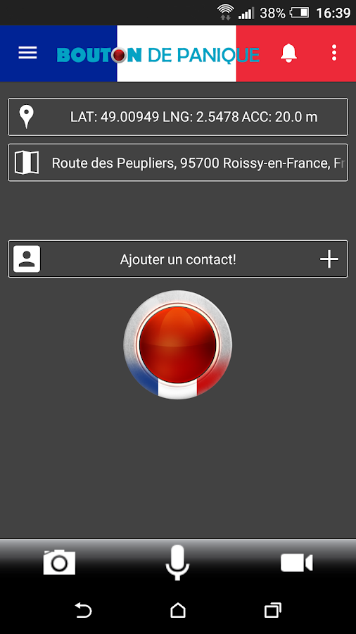 Bouton Rouge de Panique- screenshot