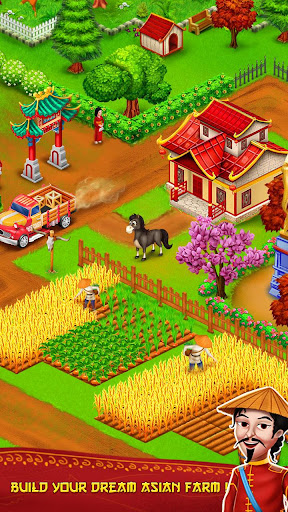 Télécharger Gratuit Asian Town Farm : Offline Village Farming Game  APK MOD (Astuce) screenshots 1
