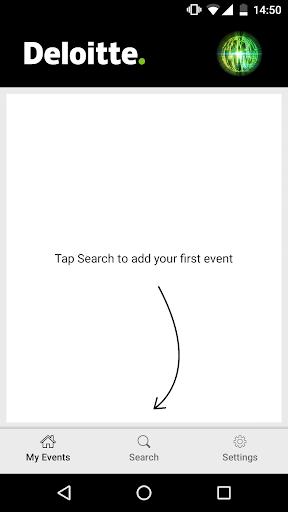 Deloitte Meetings screenshot