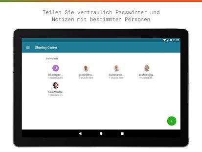 Passwortmanager von Dashlane Free Screenshot