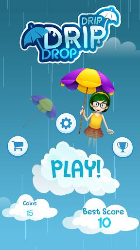 Télécharger Drip Drip Drop: Dodge Drops with Magic Umbrella  APK MOD (Astuce) screenshots 1