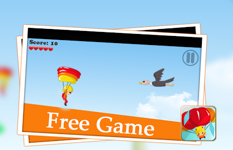 😎 parachute games flying sky screenshot 1