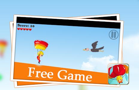 😎 parachute games flying sky screenshot 1