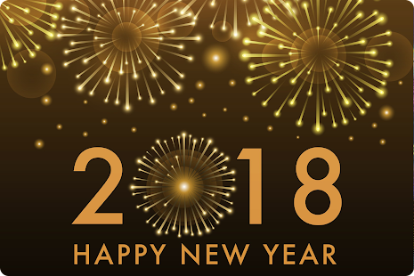 New Year Wallpaper 2018 - Happy new year greetings - náhled
