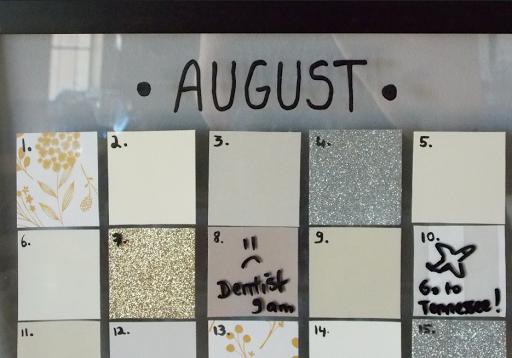 calendrier cadre