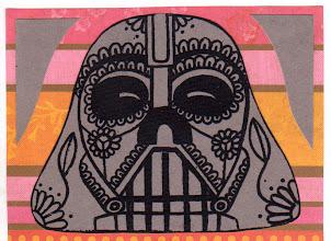 Photo: Wenchkin's Mail Art 366 - Day 173, card 173a