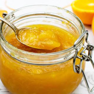 Orange & Mango Jam [vegan] [gluten free].